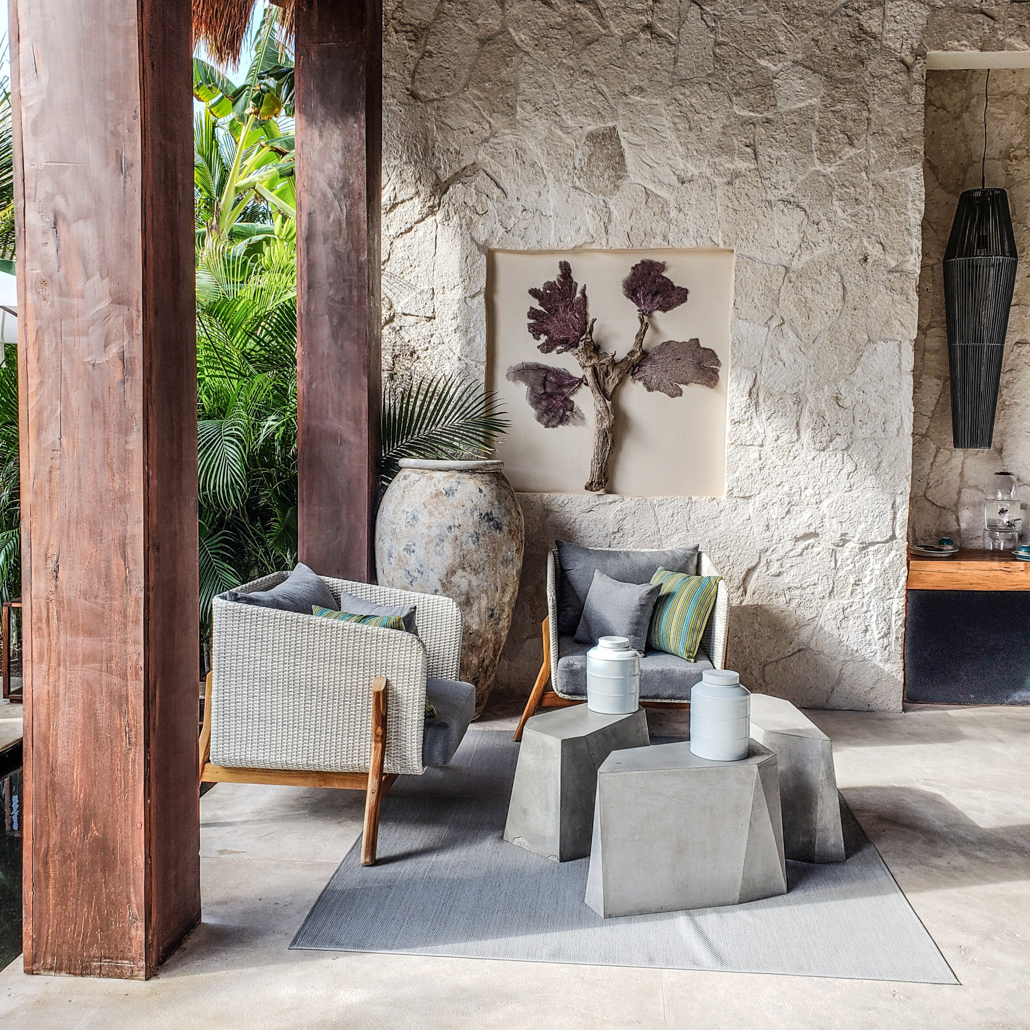 Chable Maroma Resort - Quintana Roo - Playa Del Carmen - Playa Maroma - Spa - Lounge