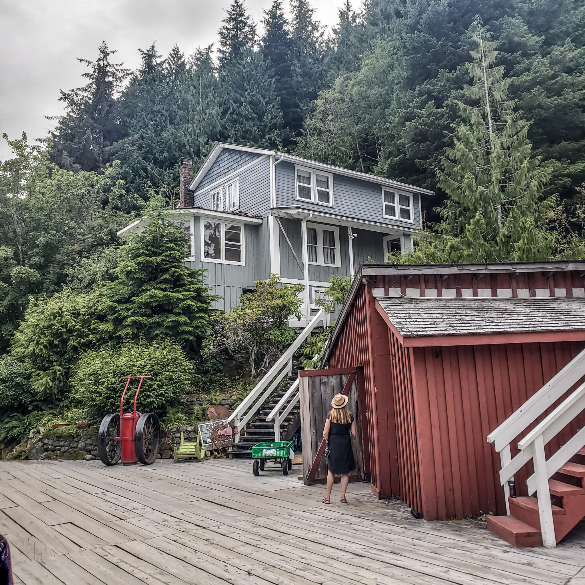 Visit Port Hardy - Vancouver Island North - Explore Canada - Hello British Columbia - Telegraph Cove - Houses