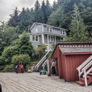 Visit Port Hardy - Vancouver Island North - Explore Canada - Hello British Columbia - Telegraph Cove - Houses