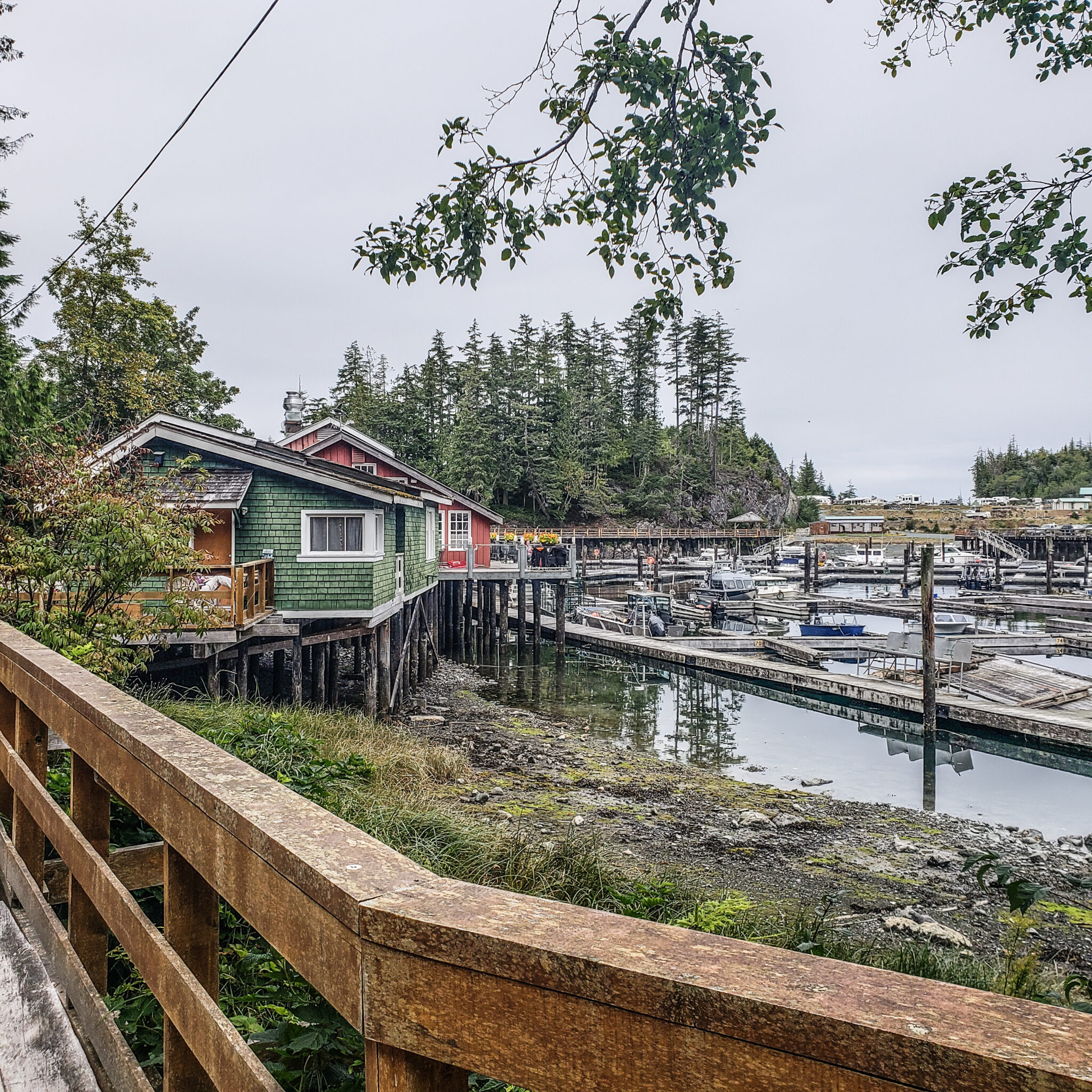 Visit Port Hardy - Vancouver Island North - Explore Canada - Hello British Columbia - Telegraph Cove - Waterfront