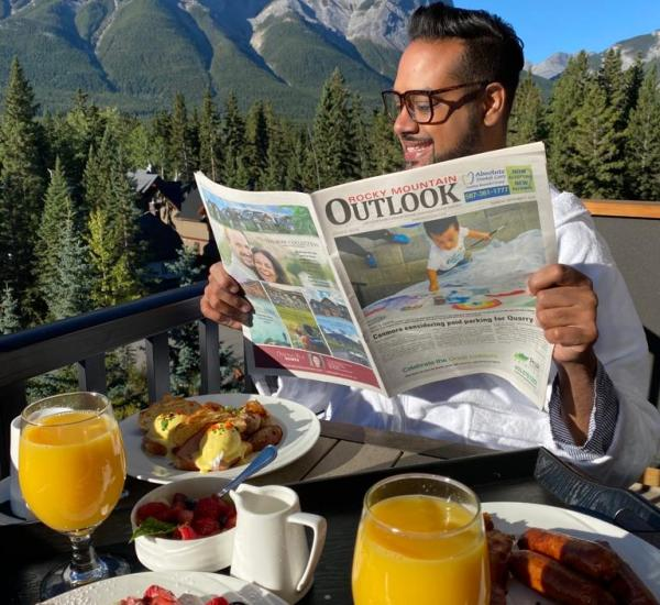 Hotel Malcolm Canmore Alberta - Canadian Rockies - Breakfast