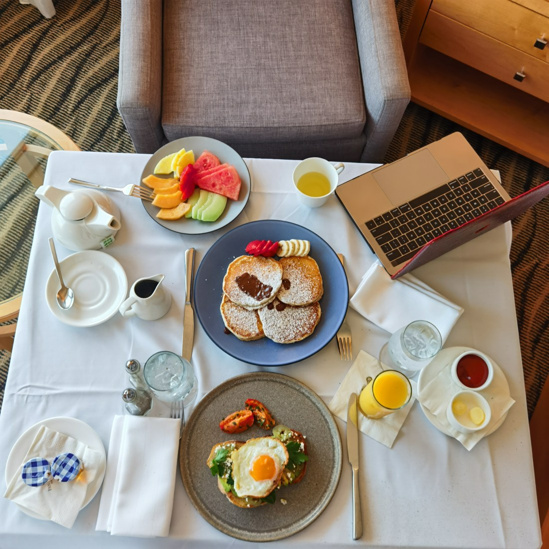 Pan Pacific Vancouver - Downtown Waterfront YVR - Breakfast