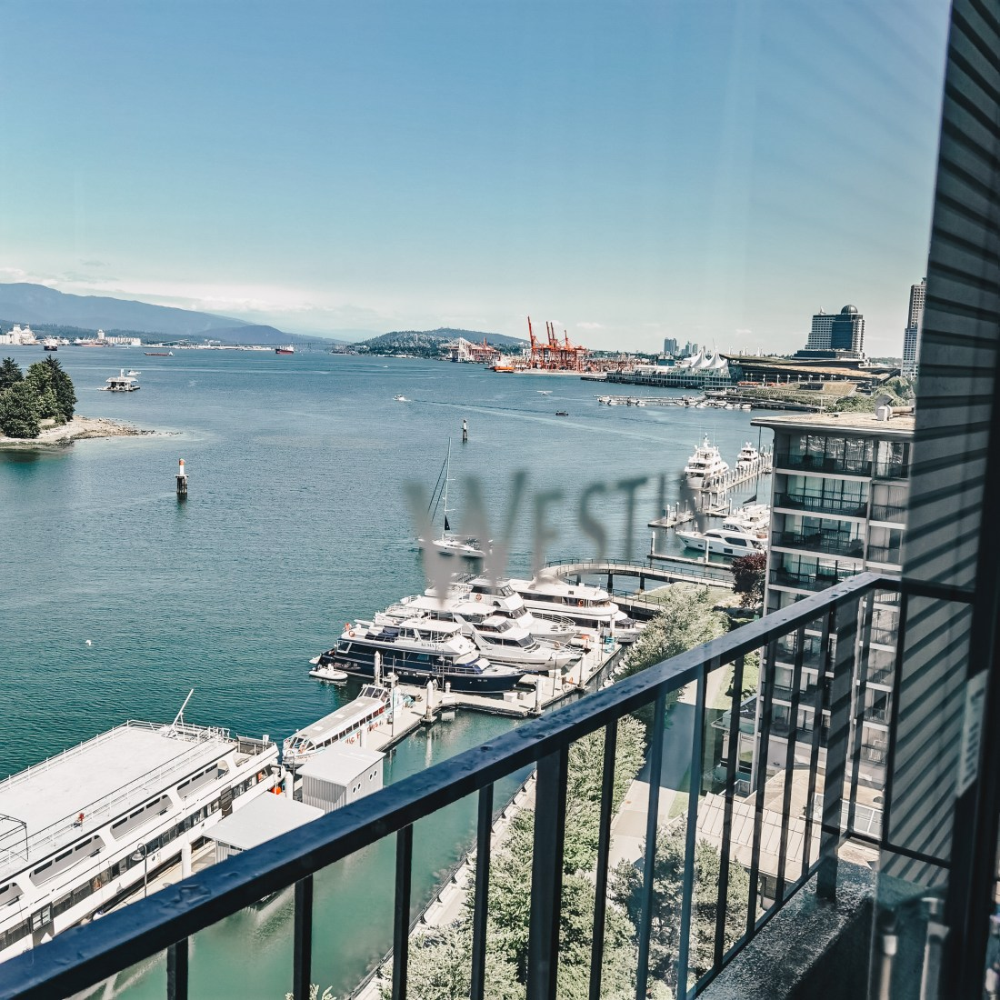 Westin Bayshore Vancouver Waterfront - View