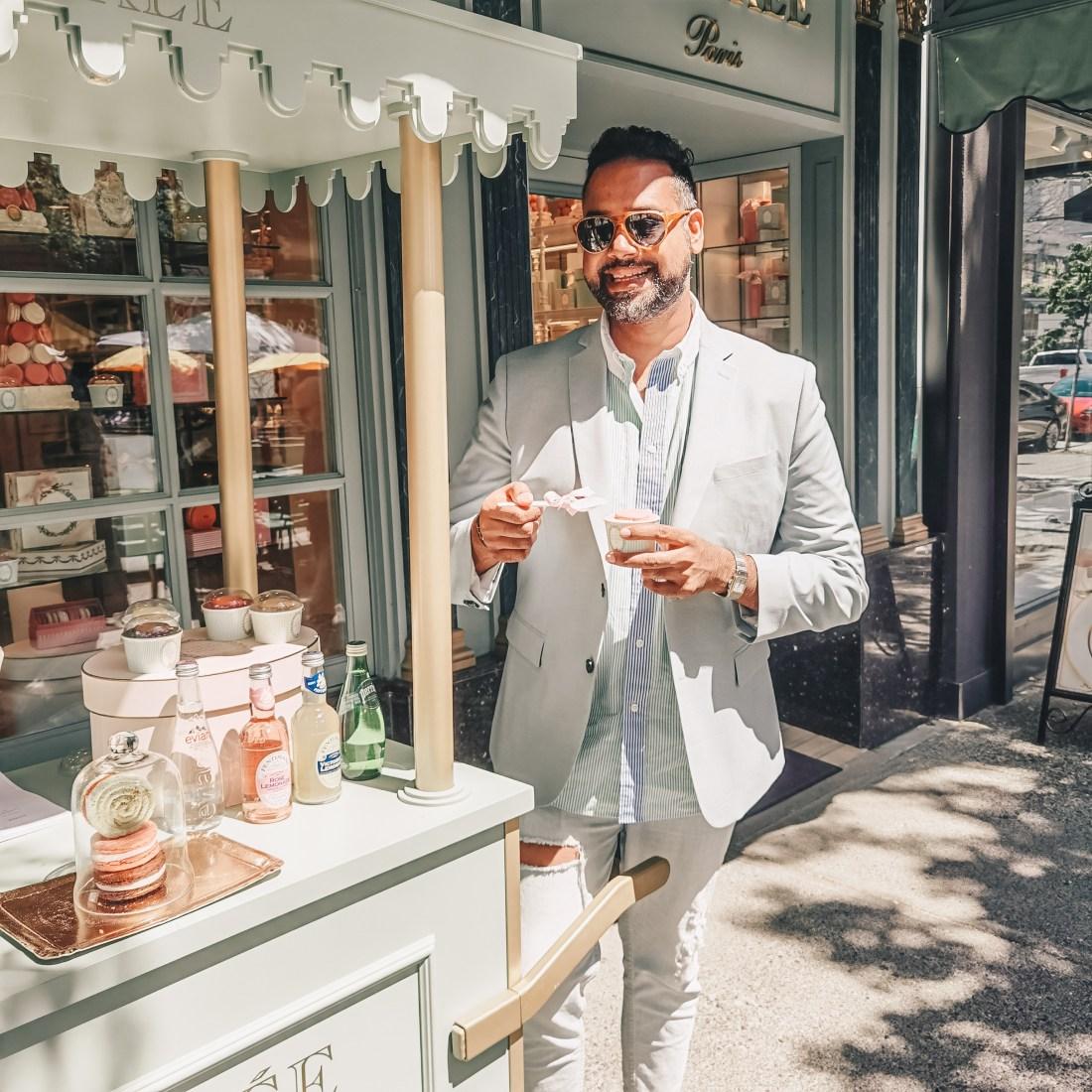Laduree Vancouver - Robson Street - French Patisserie - Ice Cream