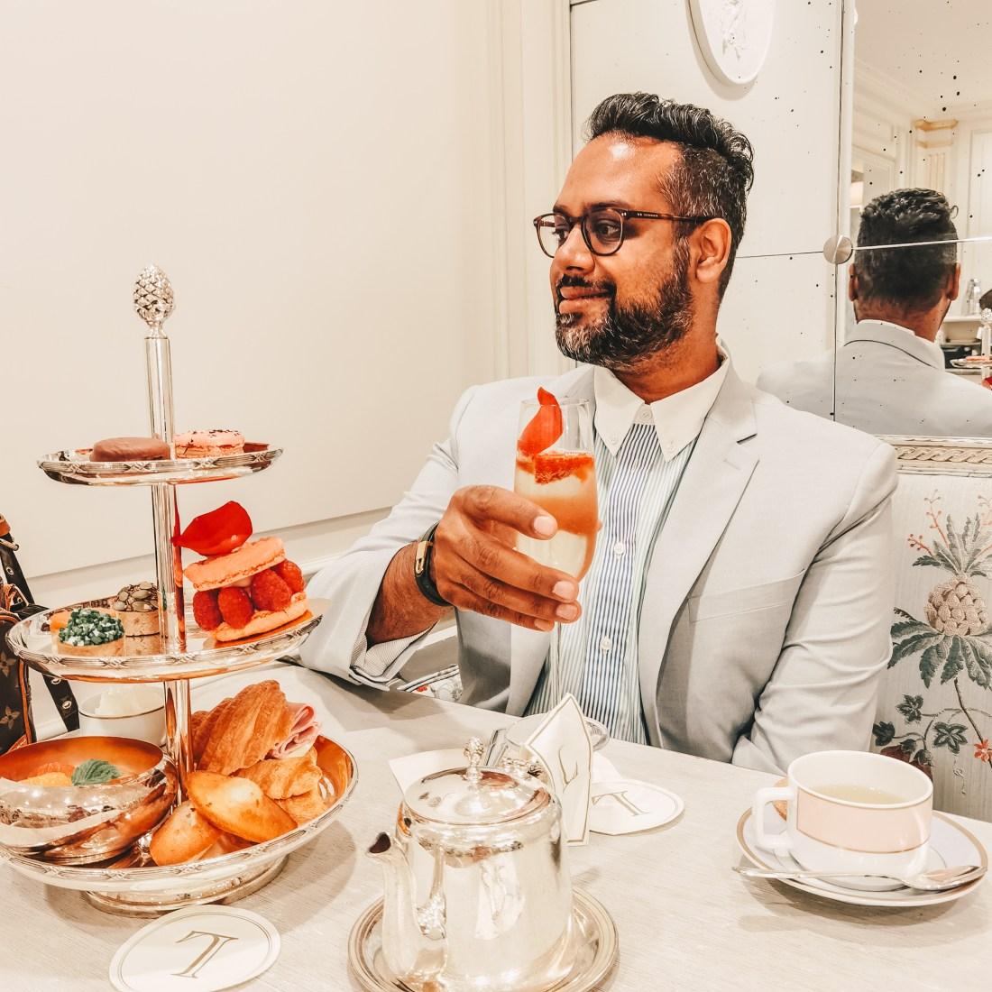 Laduree Vancouver - Robson Street - French Patisserie - Afternoon Tea