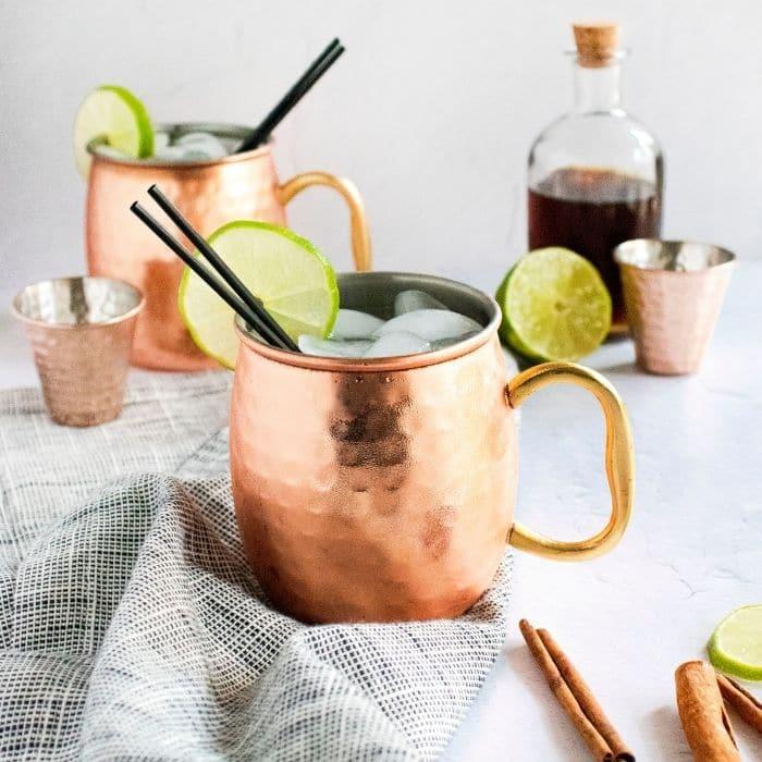 Cinnamon Spice Moscow Mule Recipe