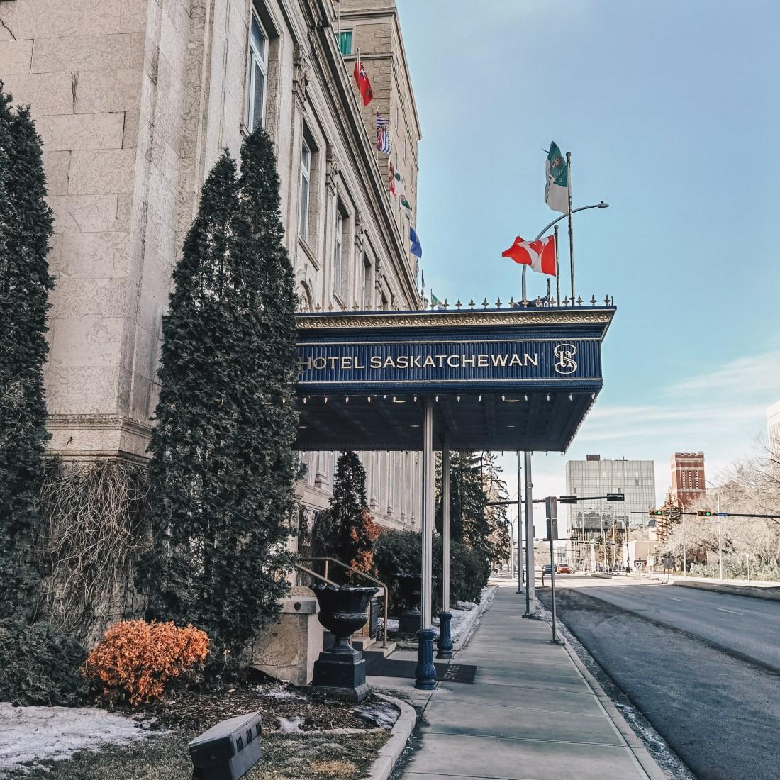 Hotel Saskatchewan - Regina Saskatchewan