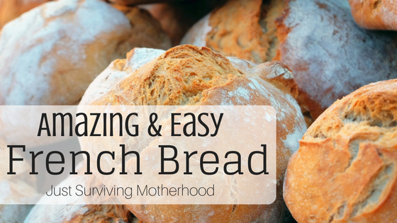 Amazing & Easy Homemade French Bread