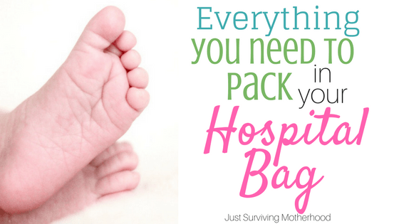 Everything You Need To Pack In Your Hospital Bag