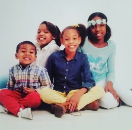Denise, Jaeda, Aaliyah, Johnny <3