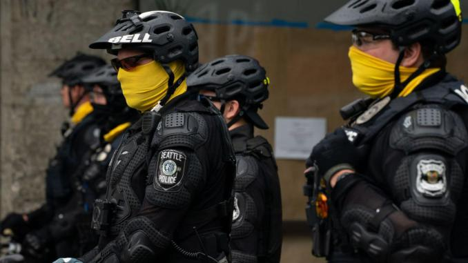 Seattle police on July 1