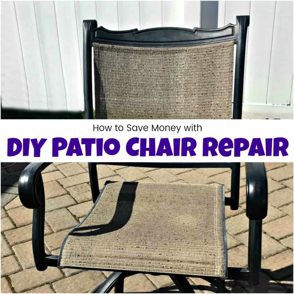 Patio Chair Replacement Slings How To Save Yourself Money With Diy Patio Chair Repair