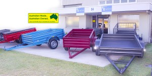 COVER AUSSIE MADE TRAILERS