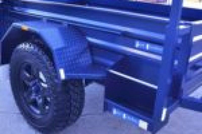 Semi Off Road 7x4 trailer