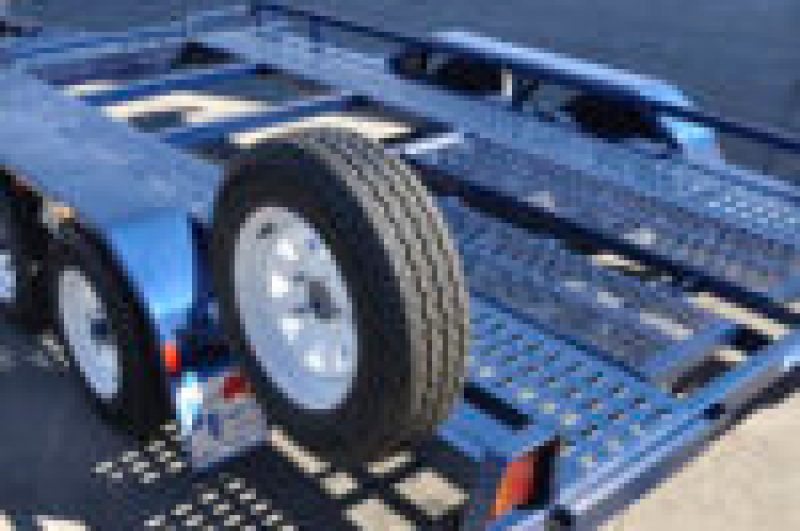 CAR TRAILER TILTING JUST TRAILERS
