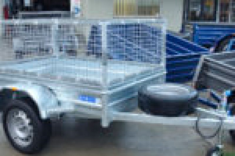 GALVANISED BOX CAGE TRAILER NO RUST, JUST TRAILERS ENGINEERING