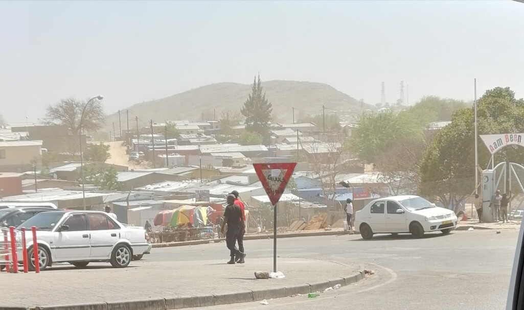 Katutura township on the outskirts of Windhoek