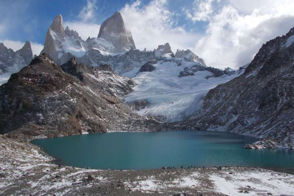 Laguna de los Tres and Mount Fitzroy