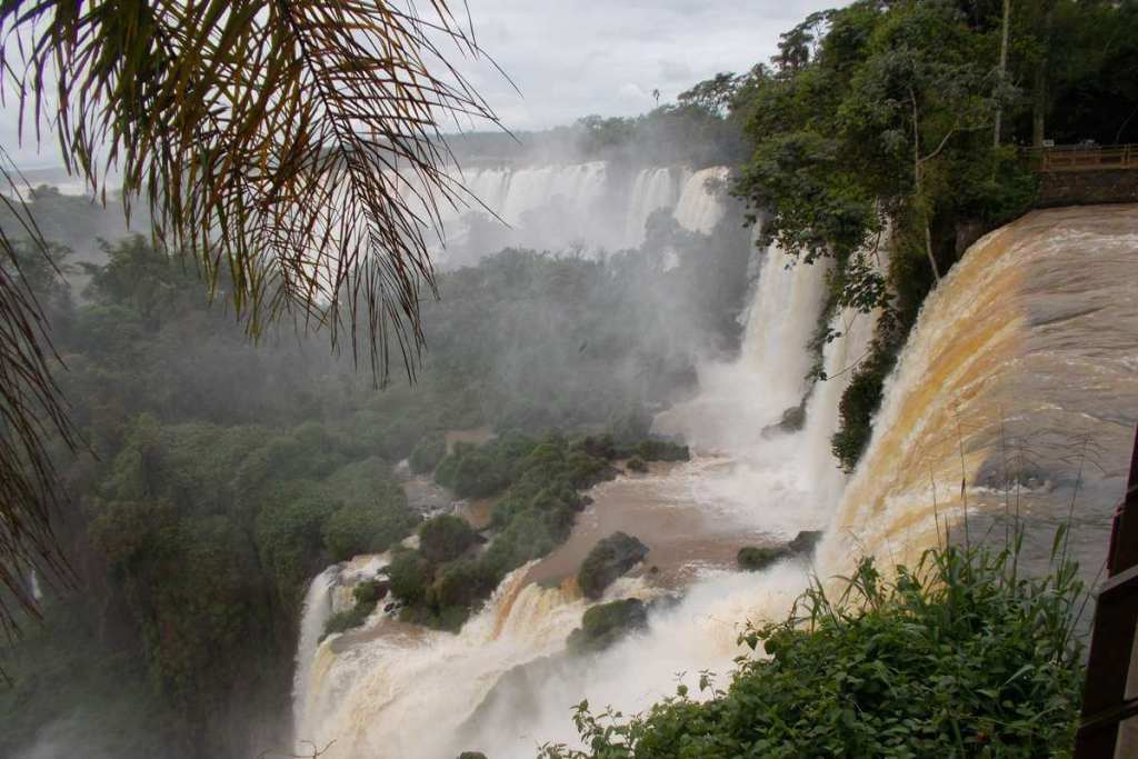 From the top of Iguazu Falls
