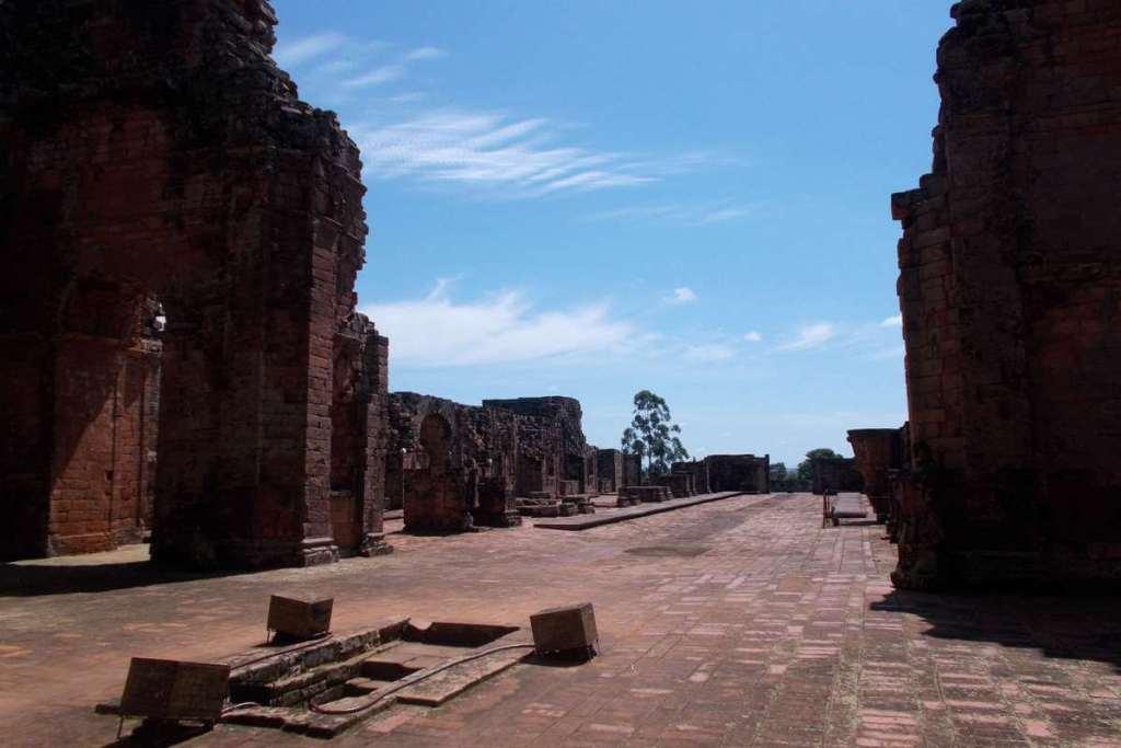 Jesuit Ruins near Encarnacion