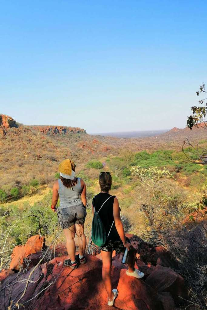 Looking out over the Waterberg Plateau