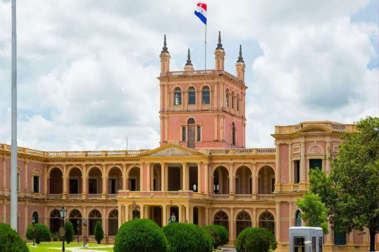 Presidential home of Paraguay's leader in Asuncion