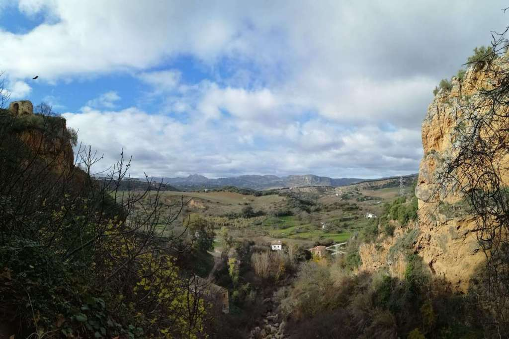 View of the countryside around Ronda