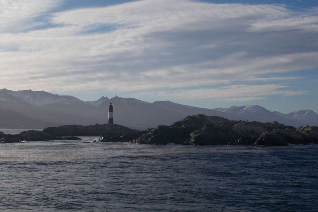 Lighthouse in Ushuaia