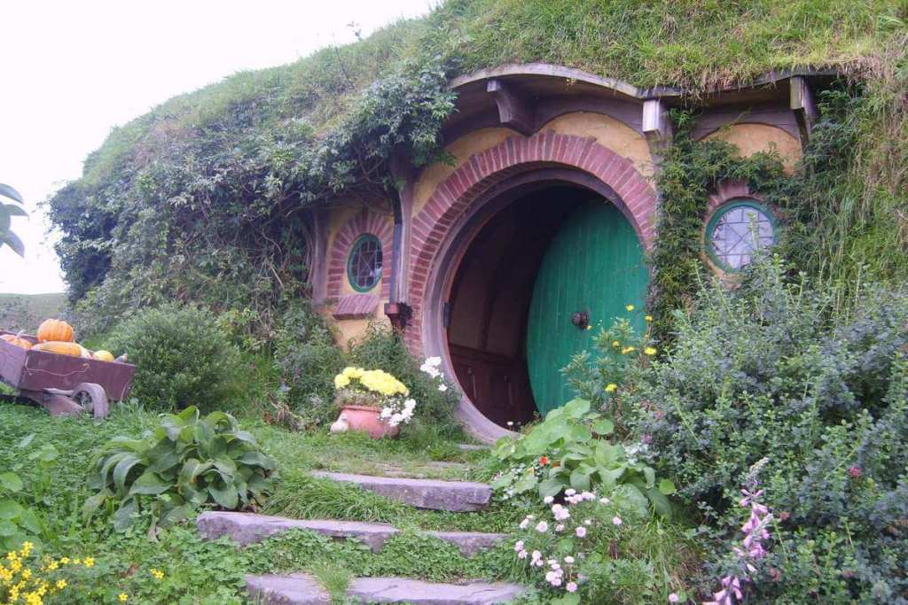 Hobbit house in Hobbiton
