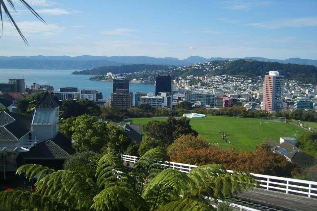 Overlooking Wellington
