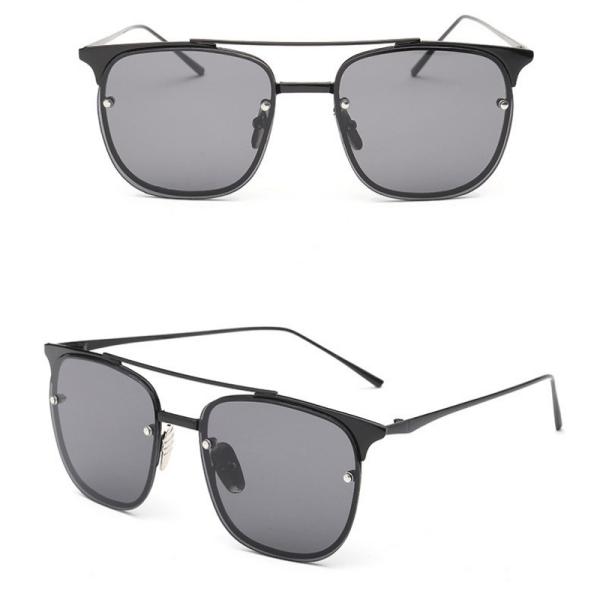 black lens square sunglasses Just Trimmings