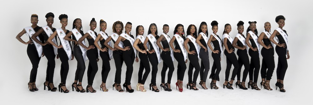 Miss Soweto 2020 finalists