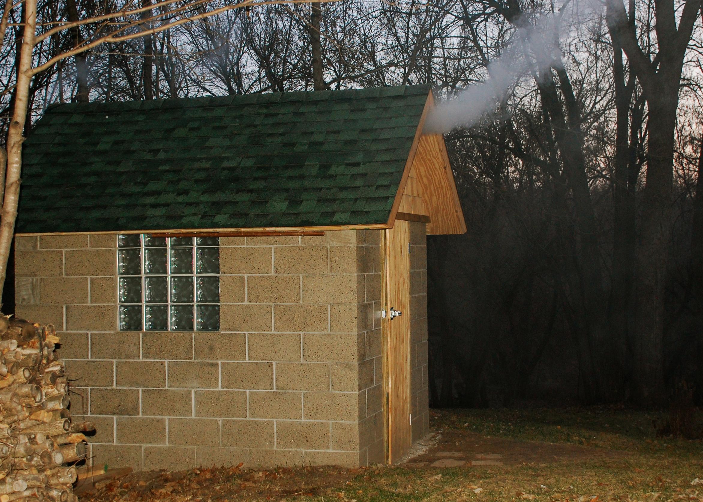 Building A Smokehouse Just Two Farm Kids