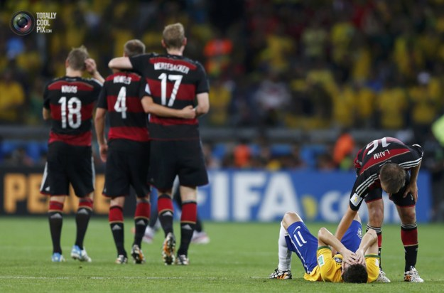 Germany stomps Brazil