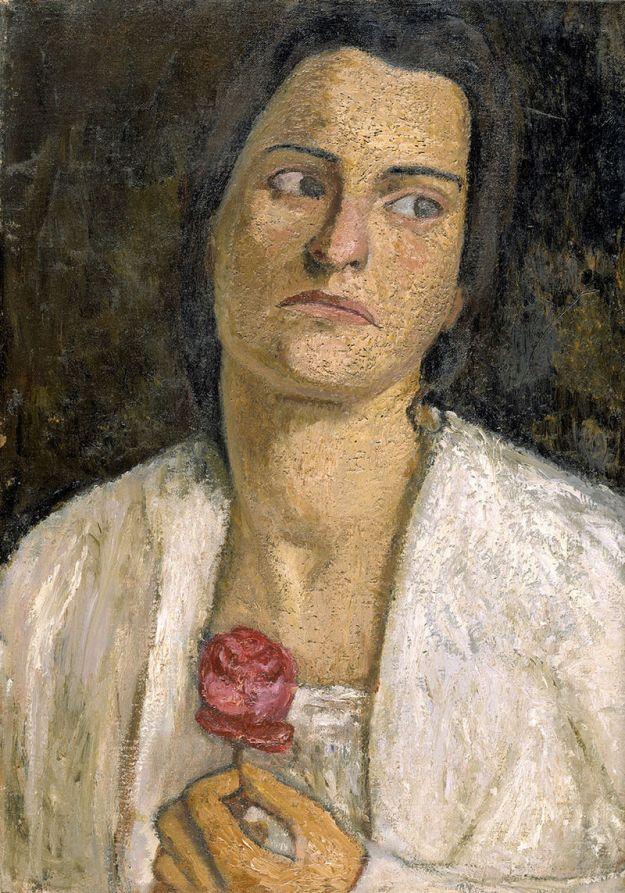 A portrait of Clara Rilke-Westhoff by Paula Modersohn-Becker