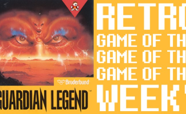 Retro Game Of The Week Guardian Legend For Nes