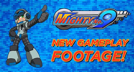 Mighty No. 9 Footage