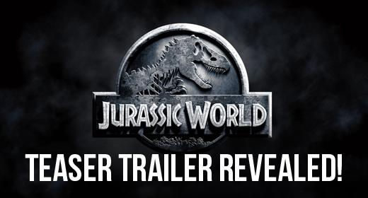 Jurassic World Teaser Trailer