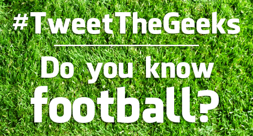 Tweet The Geeks Football