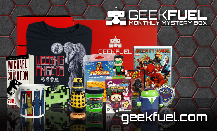 Sign up for Geek Fuel today!