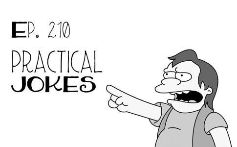 April Fools Practical Jokes