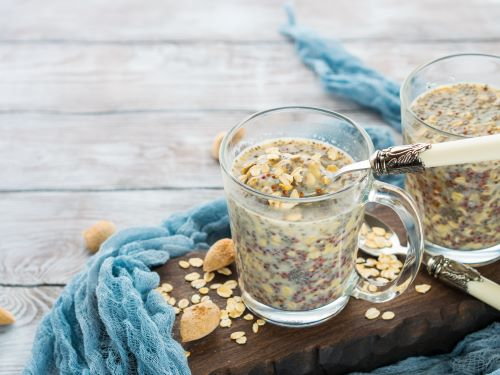 Vanilla Overnight Oats