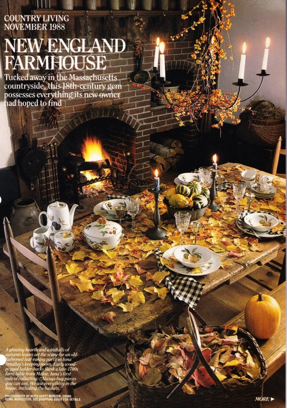 Decorating with primitives. Primitives and fall - a match made in Heaven.