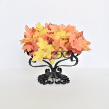 Wrought Iron Scroll Pedestal Bowl