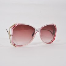 1980s Ombre Rose Colored Sunglasses