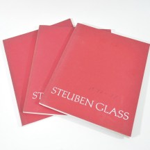 Vintage Steuben Glass catalogs - Winter 1975/6. 76/77, 77/78