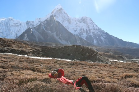 Hans And Ama Dablam
