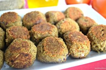 "Lentil & Quinoa ""Meatballs"" – Gluten Free & Vegan"