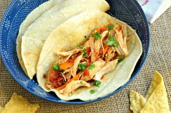 Slow Cooker Chicken Fajitas – Gluten Free & Dairy Free