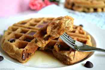 Belgian Waffles – Gluten Free, Vegan, & Refined Sugar Free